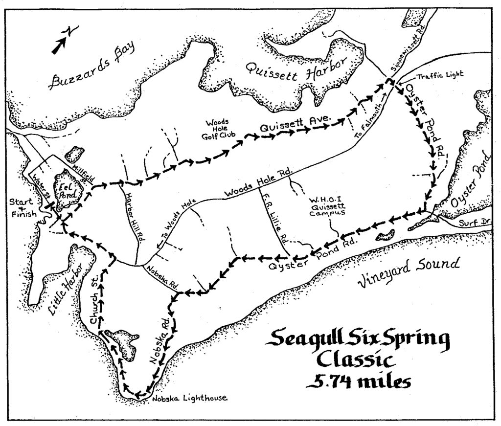 Seagull Six Course Map